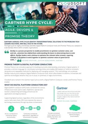 Gartner Hype Cycle - Agile, DevOps & Promise Theory