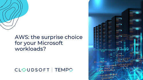 AWS | AWS: the surprise choice for your Microsoft-based applications?