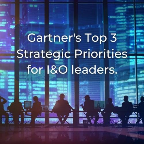 Gartner strategic priorities