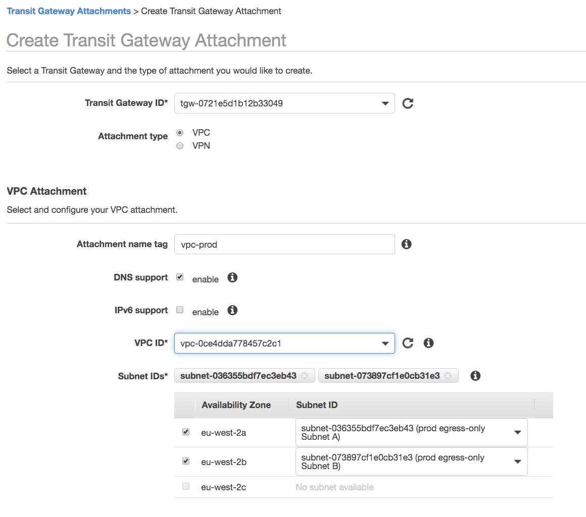 create-transit-gateway-attachment-vpc