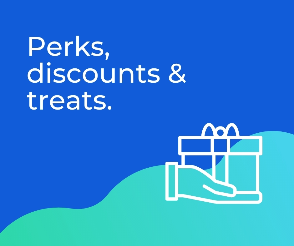 Perks and discounts
