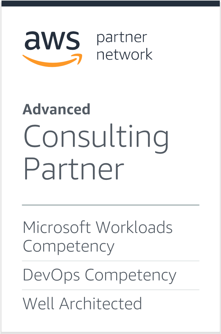 AWS Advanced Consulting Partner competencies